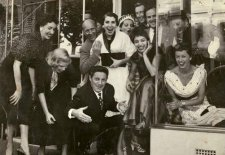 The Mirka Café (now Bistrot Balzac) 1954