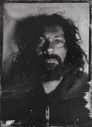 Mr Zee (Wet plate collodion image)