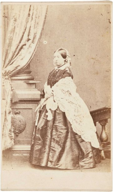 Queen Victoria, 1860-65 Post Office Photographic Studio, Melbourne after John J. Mayall