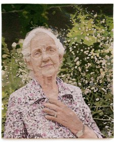 Portrait of Dame Elisabeth Murdoch, 2000 Victorian Tapestry Workshop