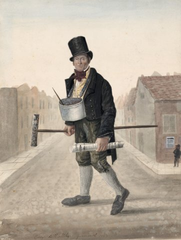 Cary, Billsticker, Great Yarmouth, 1823 by John Dempsey