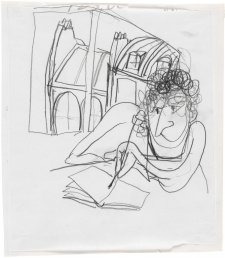 Self portrait, Paris, 1989 Brett Whiteley