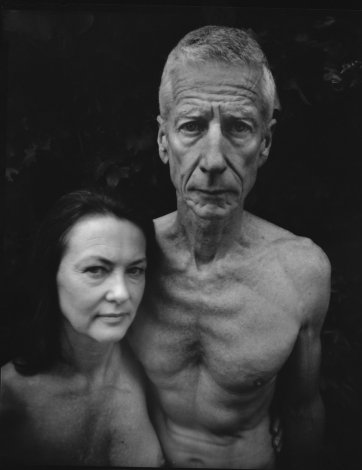 Adrian and Caren at home, 2008 by Anthony Browell