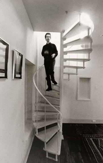 Peter Carey, 1989 (printed 2002) by Lewis Morley