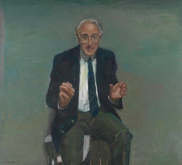 Portrait of Professor Graeme Clark