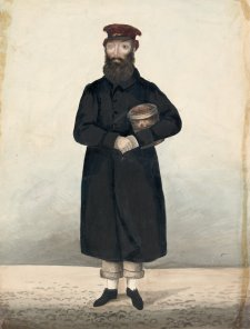 James Guidney, 'Jemmy the Rock Man', Birmingham, c.1830 by John Dempsey