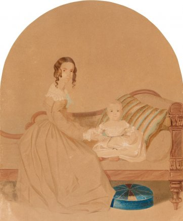 Theresa and James Laidley Mort, 1844 William Nicholas
