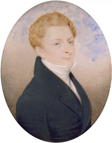 Mr Mortimer Lewis, c. 1828 an unknown artist
