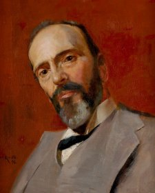 Sketch portrait of Sir Alex Onslow, 1896 Tom Roberts