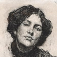 Portrait of Thea Proctor, 1905 by George Lambert