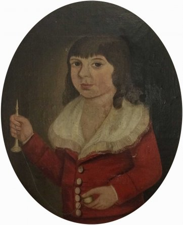 Thomas Fitzherbert Hawkins, c.1790 an unknown artist