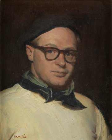 Self portrait, late 1930s William Dargie