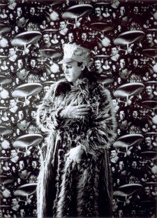 Leigh Bowery in Fur Coat, c. 1983  (printed 2005) David Gwinnutt