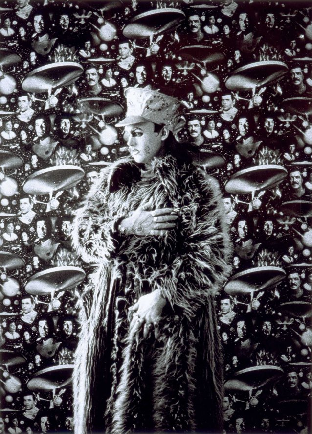 Leigh Bowery in Fur Coat