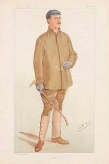 """Ducker"" Douglas Hamilton McLean (Image plate from Vanity Fair), 1897 Sir Leslie Ward"