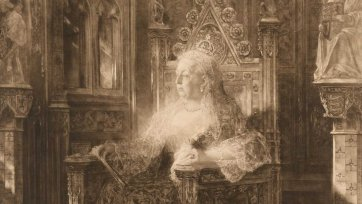 Queen Victoria, 1901 The Illustrated London News after Jean Joseph Benjamin-Constant