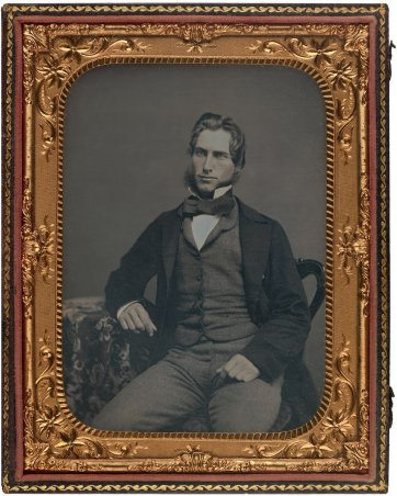 William Charles Windeyer, (1850s) by an unknown artist