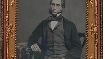 William Charles Windeyer, (1850s) an unknown artist