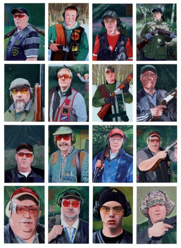 The Shooting Gallery - Members of the Batley & District Gun Club