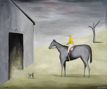 Stable Scene with Shane Dye, 2000 Noel McKenna