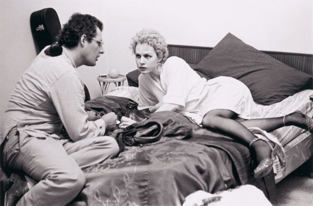 Judy Davis with director John Duigan in 'Winter of our Dreams'
