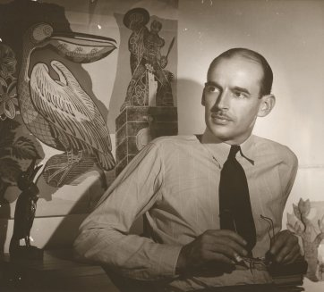 Portrait of Douglas Annand, 1941 by Max Dupain
