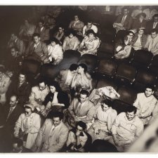 Audience in the Palace Theater c1943