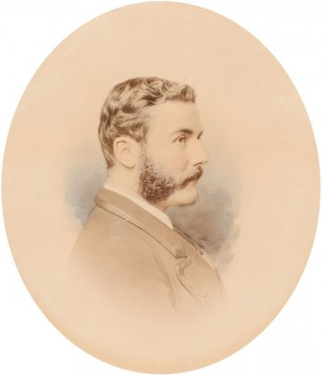 Sir Hartley Williams, c. 1871 Johnstone O'Shannessy & Co