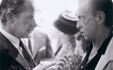 Sidney Nolan and Robert Helpmann at Bonython Gallery, Adelaide Arts Festival, c. 1964 (printed 2015) Robert McFarlane