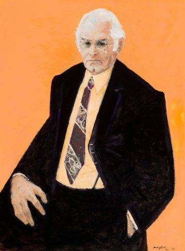 Clyde Cameron, 1974 by Clifton Pugh