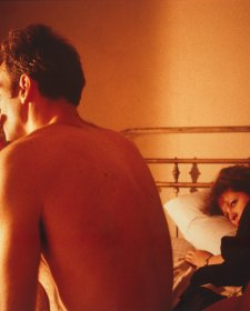 Nan and Brian in bed, New York City 1983 © Nan Goldin