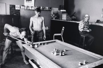 Bar Billiards, Lancelin, Western Australia, 1963 (printed 2000) David Moore