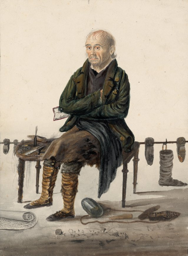 Robert Bloomfield, the poet, 1823 by John Dempsey