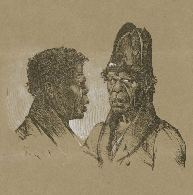 Bungaree, Chief of the Broken Bay Tribe, N S Wales