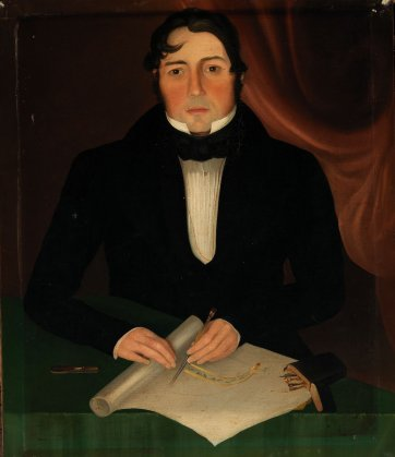 Mr John Eason, 1838 by W. B. Gould
