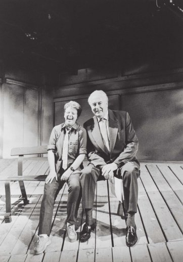 Robyn Archer and Gough Whitlam, 1986 (printed 2019) Neil Duncan