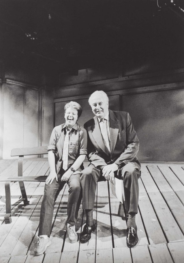 Robyn Archer and Gough Whitlam