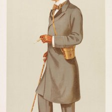 Mr Albert Frederick Calvert (Image plate from Vanity Fair), 1895 Sir Leslie Ward