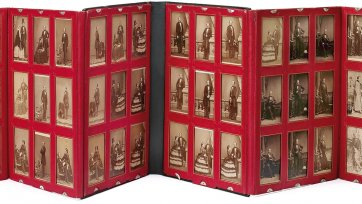 Portfolio of 54 portraits compiled by Queen Victoria, 1859–1861 by John Jabez Edwin Mayall, Camille Silvy, Frances Day and William Bambridge