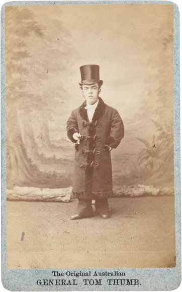 The Australian Tom Thumb (John David Armstrong), c. 1880 J D. Cooper