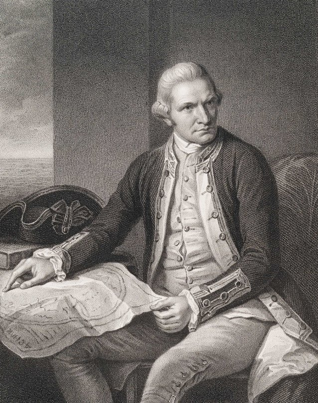 Captain James Cook, 1837 by Nathaniel Dance, William Holl, Fisher, Son & Co London