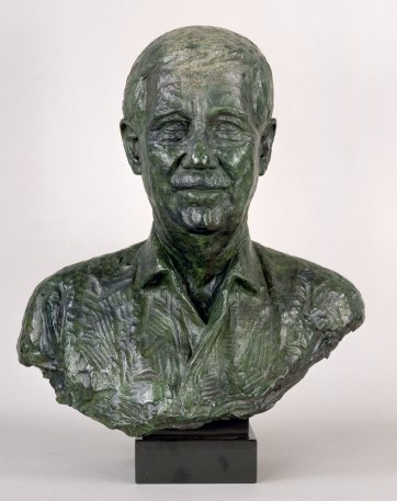 Reg Grundy, 1992 (cast 2003) by Nigel Boonham