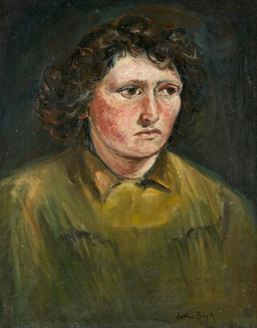 Betty Burstall, 1945 by Arthur Boyd