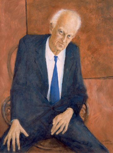 Sir Lindesay Clark, 1973 by Clifton Pugh