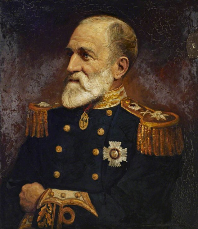 Rear Admiral Sir William Wharton