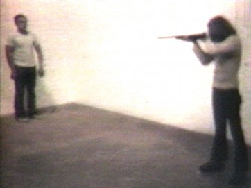 Shoot, 1971 by Chris Burden