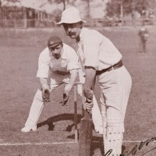 Syd Gregory (Sydney Edward Gregory, member of the 1896 Australian Cricket Team) H Parker Rolfe