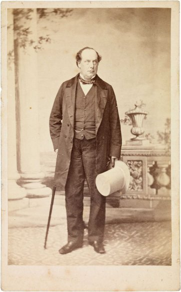 George Selth Coppin, c. 1863 by an unknown artist