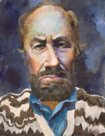 Self portrait, c. 1984 Albert Tucker