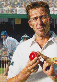 Glenn McGrath, 2003 by Sally Robinson